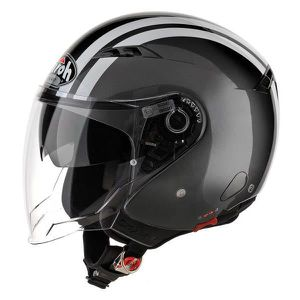 CASQUE MOTO SCOOTER Casques Jet Airoh City One Flash