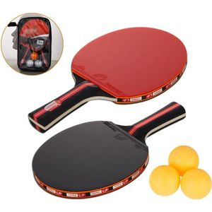 RAQUETTE TENNIS DE T. Raquette De Ping Pong, Set De Tennis De Table, 2 R