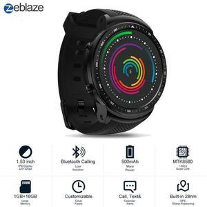 MONTRE CONNECTÉE Zeblaze THOR Pro GPS 3G Bluetooth 4.0 + 1 Go 16 Go