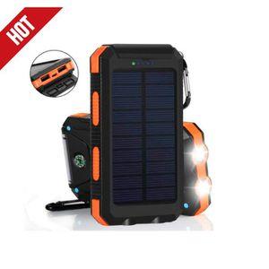 BATTERIE EXTERNE RUILIN®50000mAh Portable Solaire Extérieur 2LED 2U