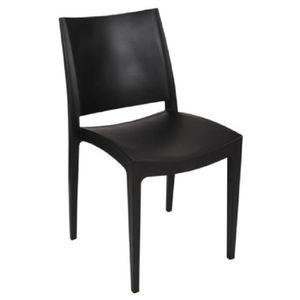 FAUTEUIL JARDIN  Lot 30 chaises empilables en résine polypropylène