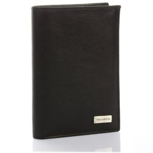 PORTEFEUILLE Portefeuille design, Portefeuille homme cuir noir