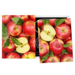 PLAQUE INDUCTION Couvre plaque de cuisson - Juicy Apples - 52x80cm,