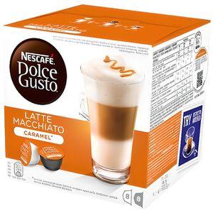CAFÉ NESCAFÉ Dolce Gusto LATTE MACCHIATO Caramel Ensemb