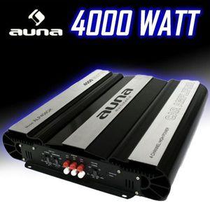 AMPLI PUISSANCE auna - Ampli auto 4 x 160W RMS - Amplificateur pou