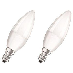 AMPOULE - LED OSRAM Lot de 2 Ampoules LED Star + Duo Click Dim E