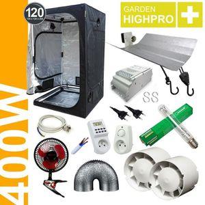KIT DE CULTURE Pack Tente 400W Probox 120 - ETI + Grolux