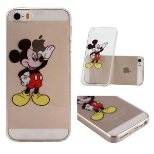 coque iphone 5s transparente mickey achat vente coque. Black Bedroom Furniture Sets. Home Design Ideas