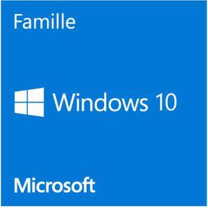 SYSTÈME D'EXPLOITATION Windows Home 10 OEM édition 32 Bit
