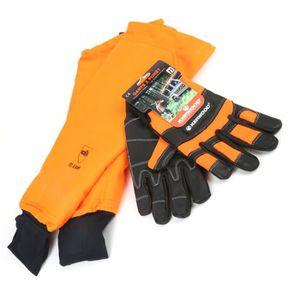 GANTS PROTECTION UV Manchettes mitaines protection tronçonneuse avec g