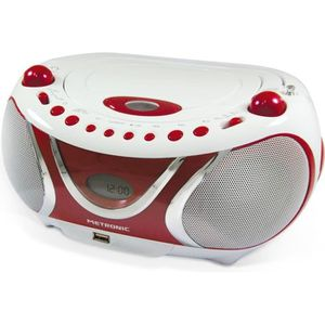 RADIO CD CASSETTE MET 477117 Radio CD-MP3 Cherry