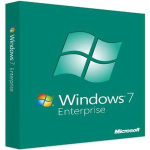 SYSTÈME D'EXPLOITATION Code de clé de produit Microsoft Windows 7 Entrepr