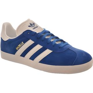 BASKET baskets mode adidas originals gazelle bleu