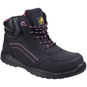 Force 8 Side-zip en Noir 42 EU Black Chaussures de travail homme Original S.W.A.T