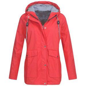 Imperméable - Trench Veste torrentielle vestes imperméables extérieures