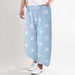 PANTALON Femmes d'onde point Pantalon large pantalon pantal