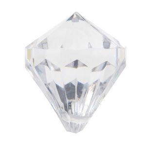 Décors de table Perle pampille diamant transparente (x6) REF/3852