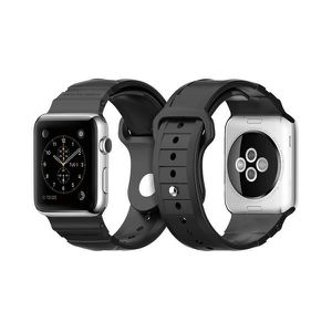 COQUE - BUMPER Spigen Rugged Band Apple Watch 42mm Noir