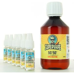 LIQUIDE E-liquide  Base Easy2Mix 50/50 6mg 200ml SuperVape