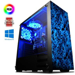 UNITÉ CENTRALE  VIBOX Ultra 11SW PC Gamer Ordinateur avec War Thun