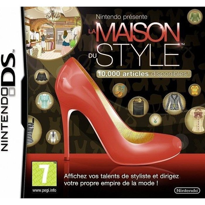 la maison du style jeu console ds achat vente jeu ds dsi la maison du style ds cdiscount. Black Bedroom Furniture Sets. Home Design Ideas