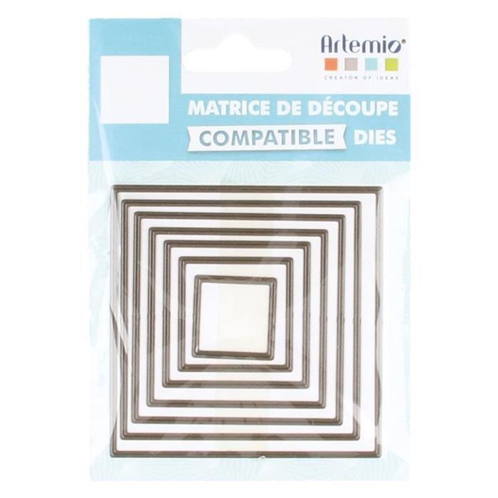Matrice de découpe (Die) Carrés Petit - Artémio {couleur}