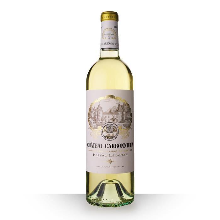 Château Carbonnieux 2015 Blanc 75cl AOC Pessac-Léognan - Vin Blanc