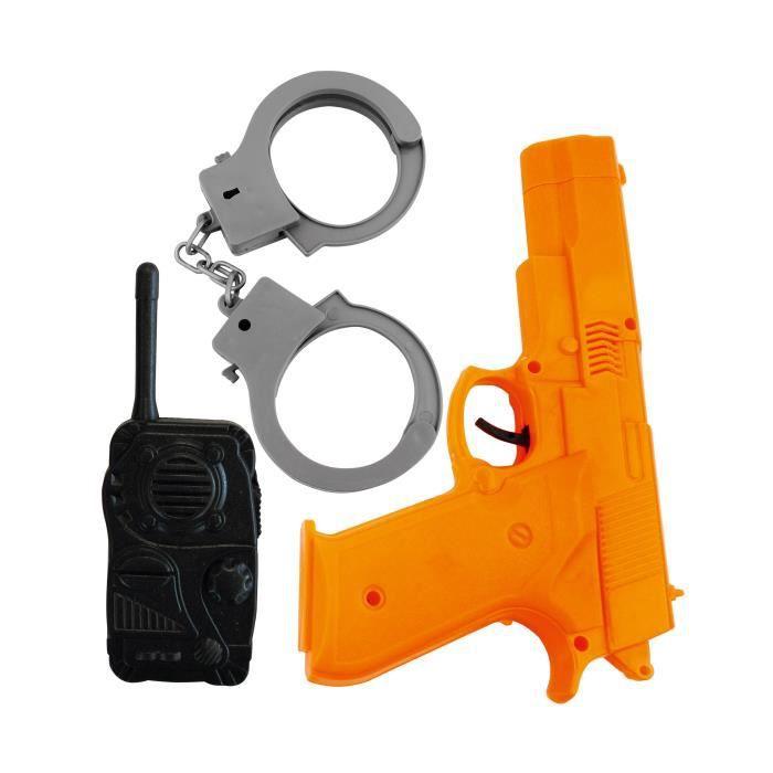 RUBIE'S Kit accessoires policier