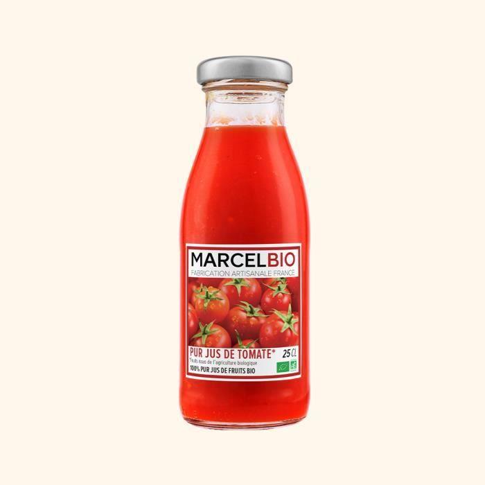 Marcel Bio - Pur Jus de Tomates Bio 25cl