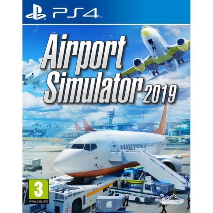 TOPLITZ Airport Simulator 2019 PS4