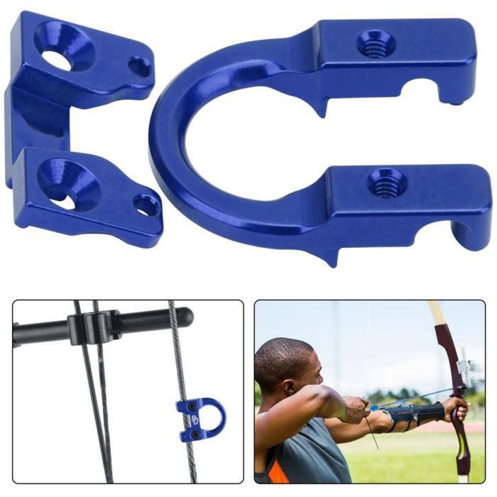 MOH-Anneau en D,anneau de tir en D,anneau de boucle en D de corde d'arc de tir à l'arc,accessoires d'arc à poulies