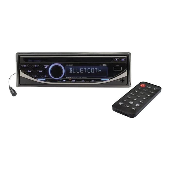 Caliber RCD125BT Automobile récepteur CD intégrée dans le tableau de bord Full-Din 75 Watts x 4