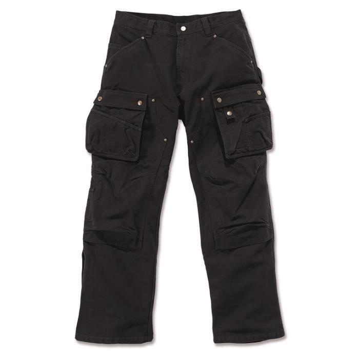 Pantalon technique renforcé multi-poches poches noir W32/L34 CARHARTT S1EB219BLKW32L34