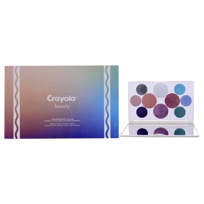 Eyeshadow Palette - Mermaid by Crayola for Women - 0.63 oz Eyeshadow