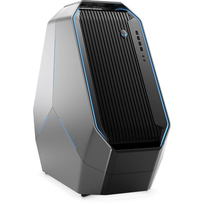 DELL PC de Bureau AW Area 51 R5 - Core i7-7800X - RAM 16Go - Stockage 2To HDD + 256Go SSD - GTX 1080 8Go - Windows 10