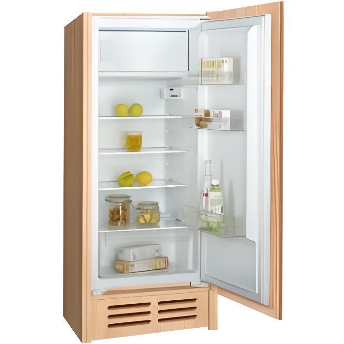 Réfrigérateur A+ 4* intégrable 186L