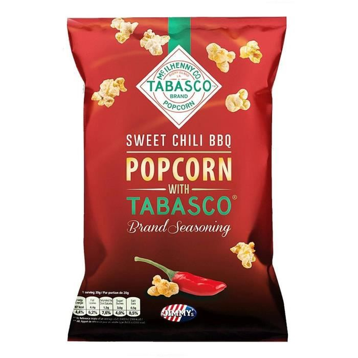 Pop corn Tabasco BBQ 90g