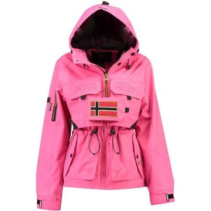 Veste Femme Geographical Norway Butcheta Fuschia
