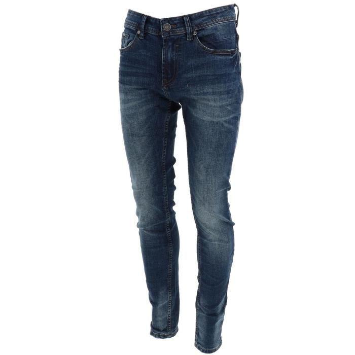 Pantalon jeans Carlos med blue use jeans - Deeluxe