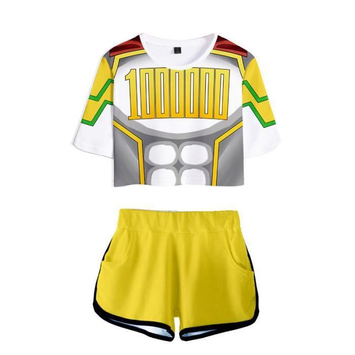 T-SHIRT Mixte - My Hero Academia le même costume de personnage T-SHIRT Enfants - jaune YG™