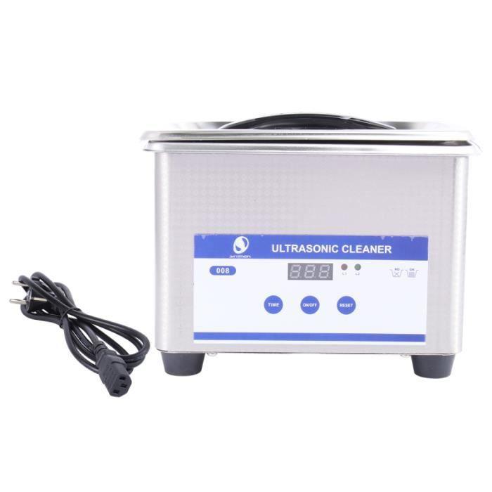 Nettoyeur ultrasonique à ultrasons 1 pc en acier inoxydable numérique Ultra Sonic pour laboratoire NETTOYEUR A ULTRASONS