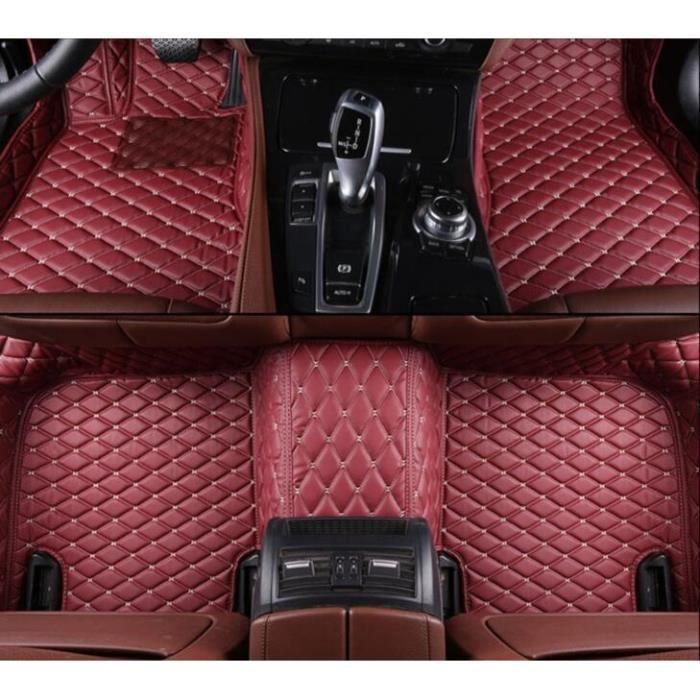 Customisé tapis de sol pour skoda roomster velour noir complet set