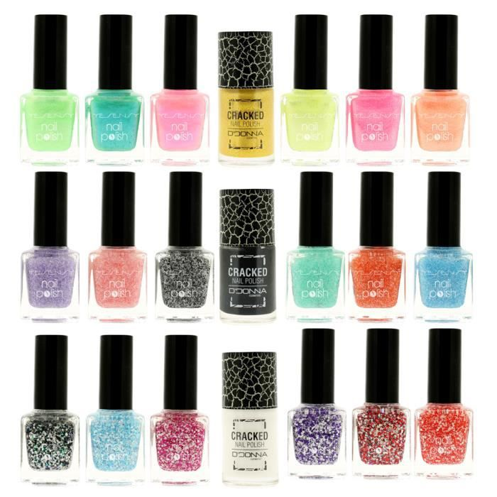 Vernis a ongles vernis a ongles paillete lot de vernis a - Malette de rangement vernis a ongles ...