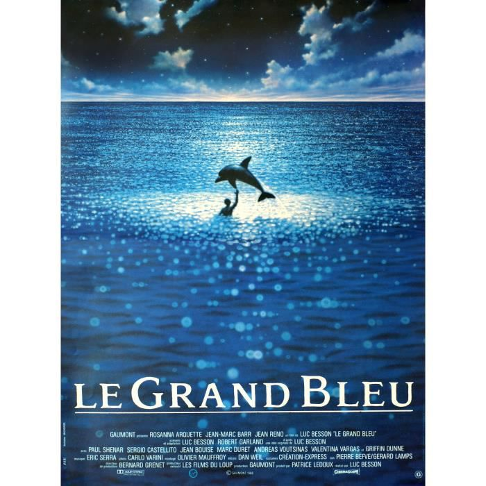 le grand bleu poster achat vente le grand bleu poster. Black Bedroom Furniture Sets. Home Design Ideas