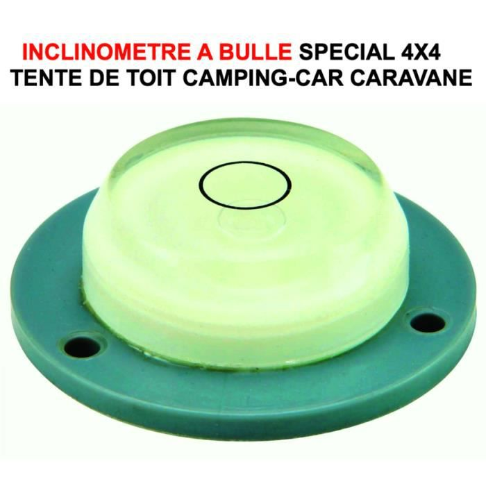 dormez a plat inclinometre bulle special camping car 4x4 tente de toit maggiolina james baroud. Black Bedroom Furniture Sets. Home Design Ideas