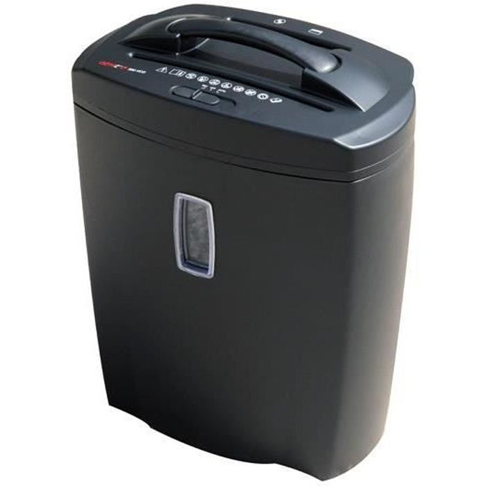 Destructeur de documents coupe crois/ée 16 litres Texet