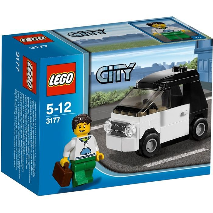 lego city 3177 la petite voiture achat vente assemblage construction lego city 3177 petite. Black Bedroom Furniture Sets. Home Design Ideas