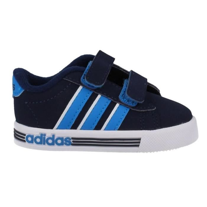 Adidas: Baskets Adidas Daily Team Suède Homme | RougeNoir
