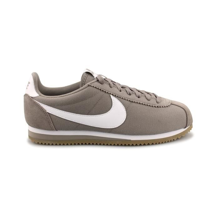 low priced buy online entire collection Basket Nike Cortez Nylon Beige 807472-202