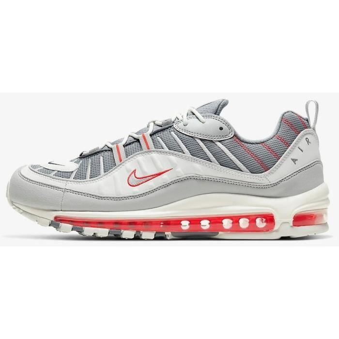 Chaussures sportswear NIKE CJ0592001 AIR MAX 98 Gris - Cdiscount ...